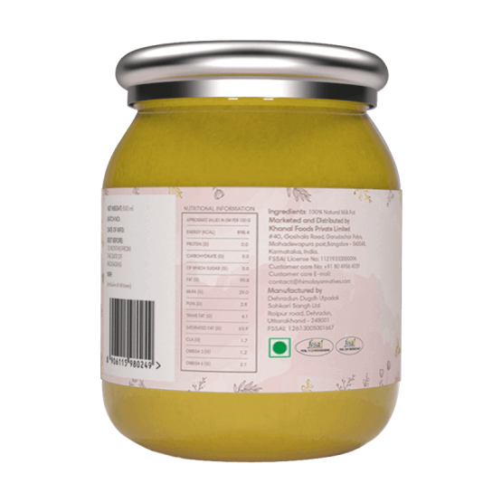 Natural Himalayan Cow Ghee