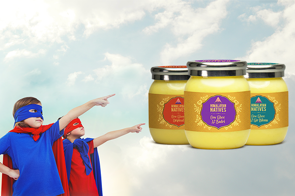 THE BENEFITS OF GHEE FOR GROWING CHILDREN