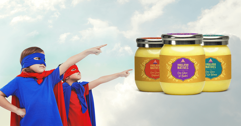 THE BENEFITS OF GHEE IN GROWING CHILDREN