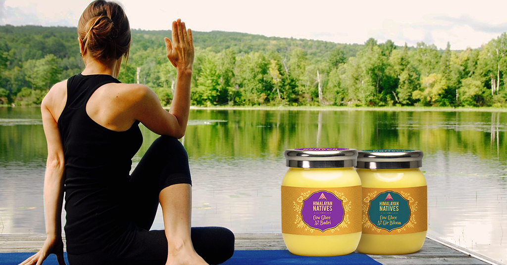 Ghee help you stay young