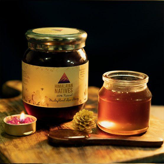 Natural Multifloral Raw Honey