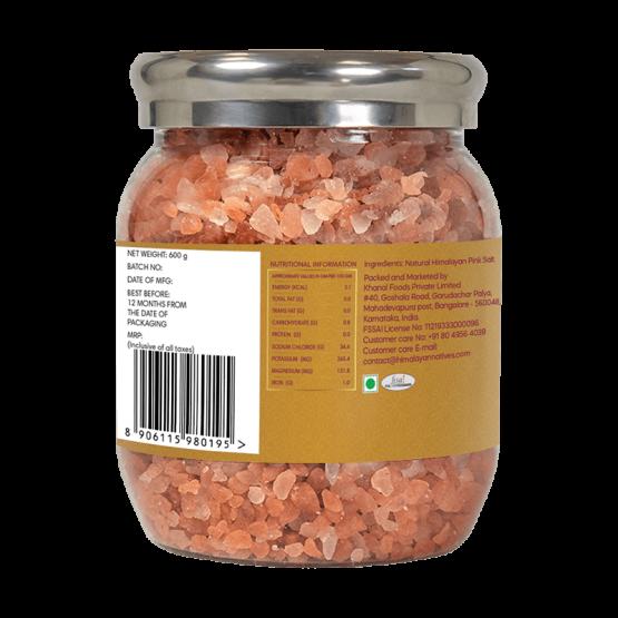 Natural-Natives Himalayan Pink Salt