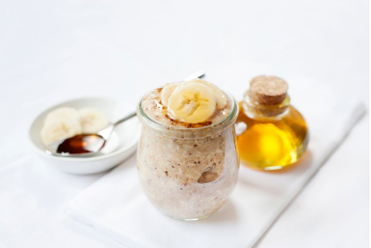 honey banana oats