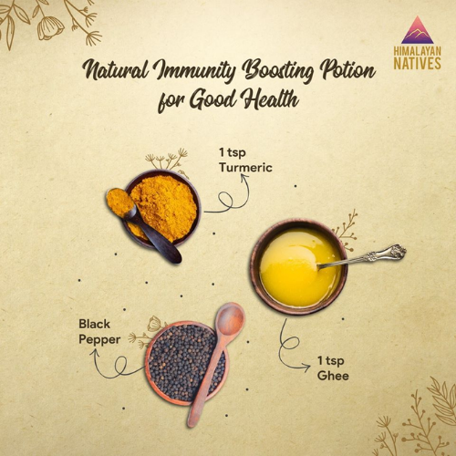 Natural immunity boosting by using home remedies