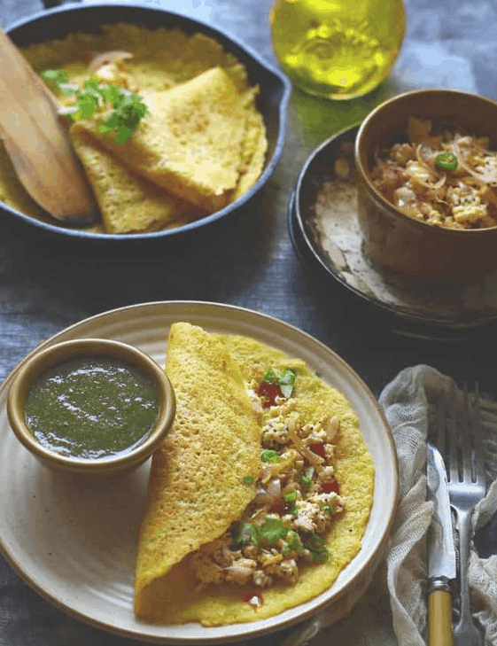 moong dal chilla recipe
