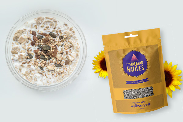 Sunflower seeds nutrition