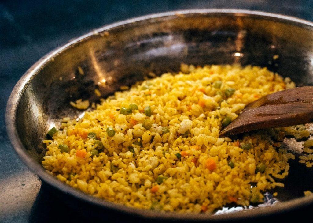 Vegetable Fried Brown Rice